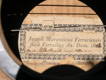 Giuseppe Marconcini label
